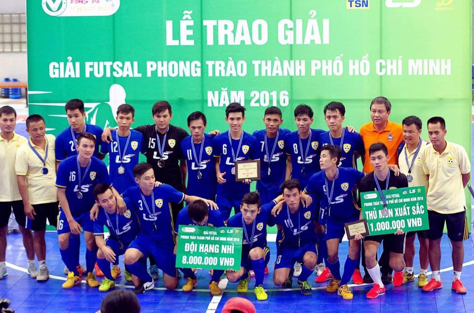 Đội futsal bóng đá Nam việt và HLV