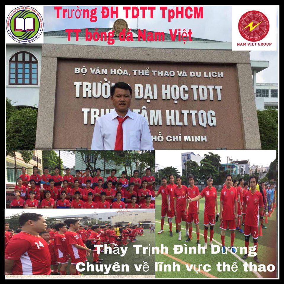 Trung tâm dạy bóng đá người lớn tại tphcm
