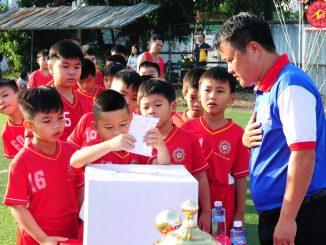 Các lớp học - Dạy bóng đá trẻ em Tphcm