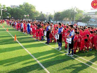 Dạy đá bóng trẻ em tphcm-Trung tâm Nam việt