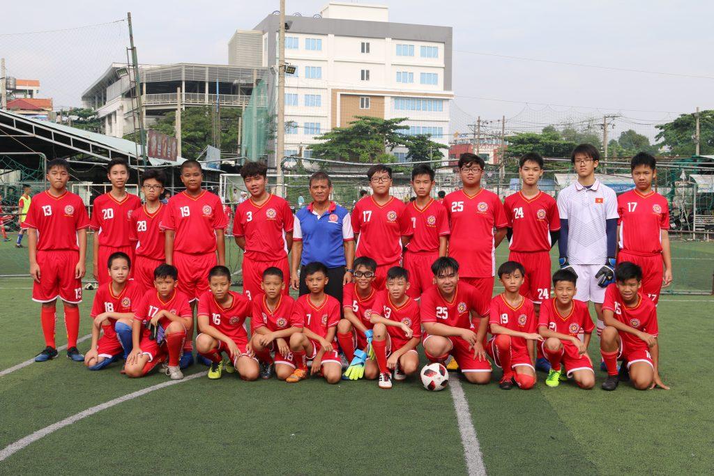 Trung tâm dạy bóng đá trẻ em tại TpHCM