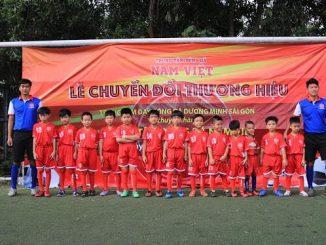 Lớp học bóng đá trẻ em ở TpHCM